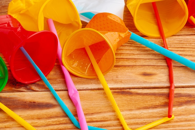 プラスチック製品、ごみのリサイクル