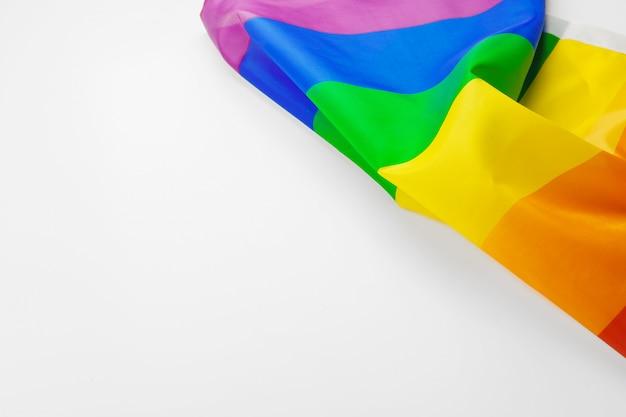 白の虹ゲイフラグ