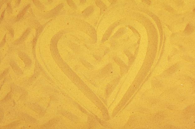 Сердце обращается в песок.