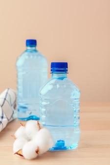 Пэт бутылки с водой