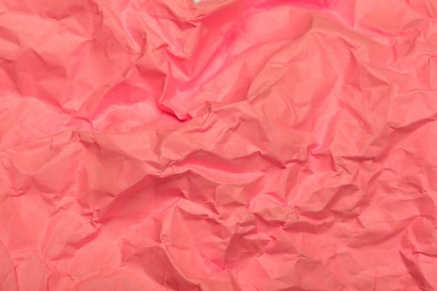 紙テクスチャ背景、コピースペースでしわくちゃの紙