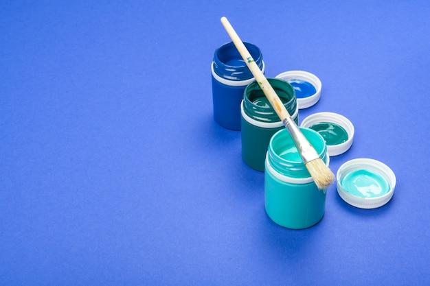 芸術のためのプラスチックペイントボトル