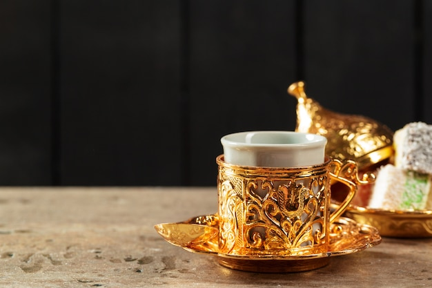 Турецкий кофе на столе