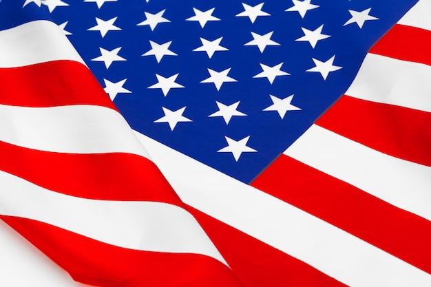 Американский флаг границы