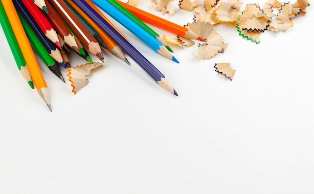 鉛筆削り分離されたシャープペンシル
