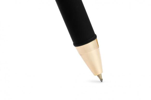 白で隔離されるペン