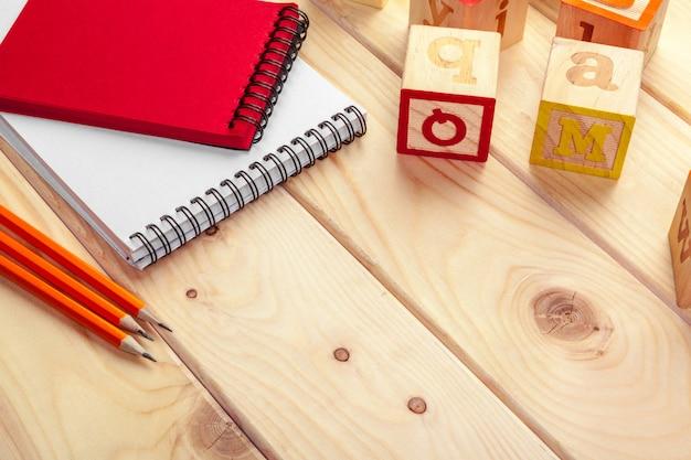 Азбука с бумажной тетрадью