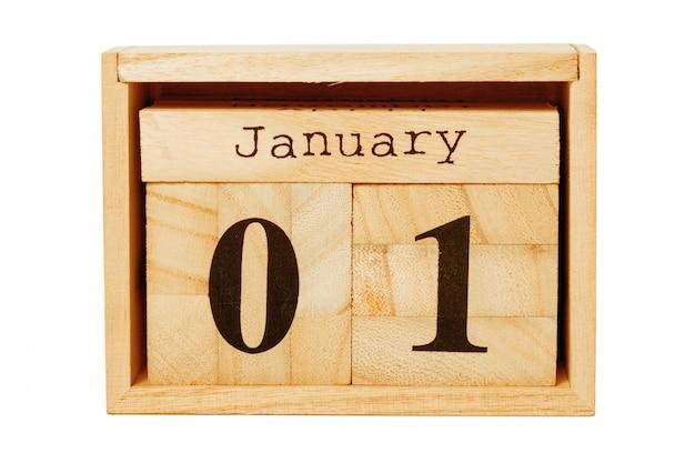 木製カレンダー