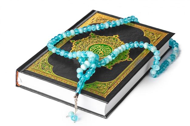 イスラム聖典とビーズ
