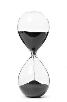 Песочные часы, изолированные на белом