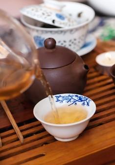 中国茶道。
