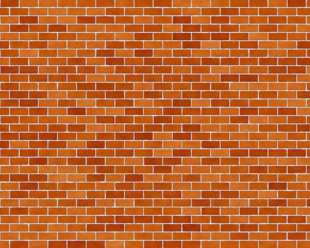 レンガの壁のシームレスな背景