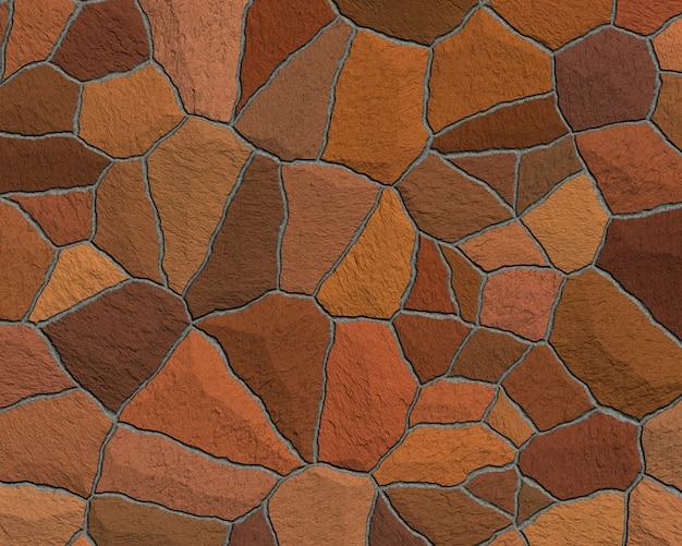 茶色の歩道ブロックの背景