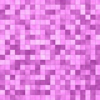 ピンクのタイルモザイク