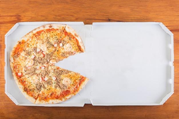 一切れのないピザ
