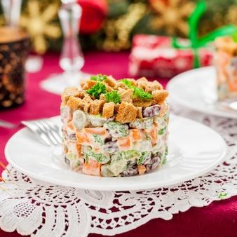 ドイツのクリスマスサラダ