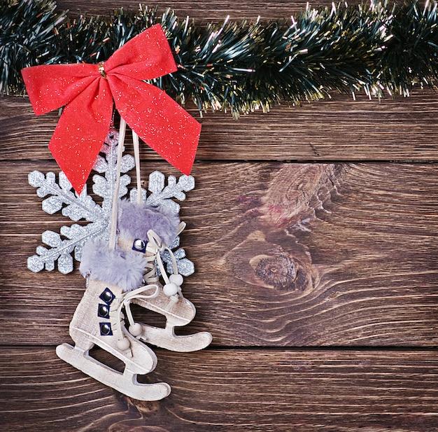 クリスマスのおもちゃと装飾