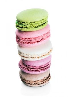 Французские сладкие деликатесные миндальные печенья