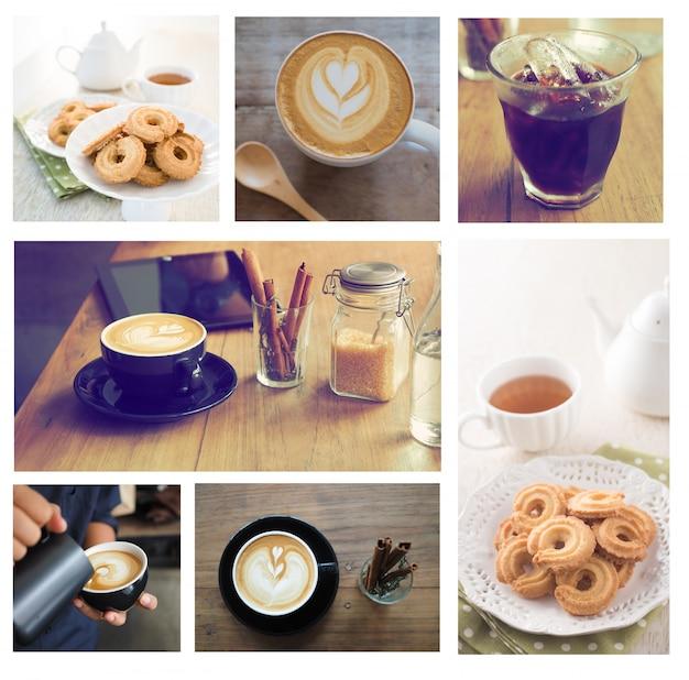 Изображение чашки кофе, помещенные в коробке
