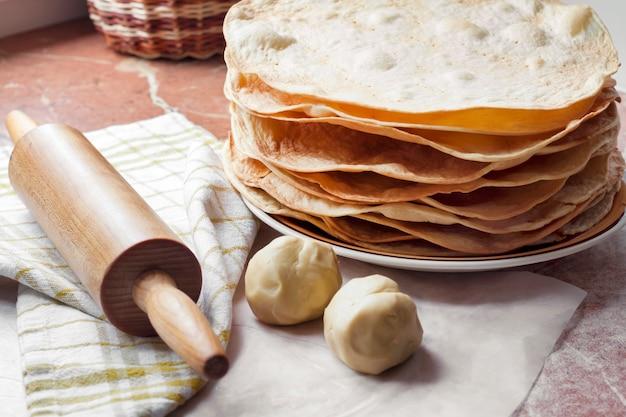 Приготовление торта наполеон