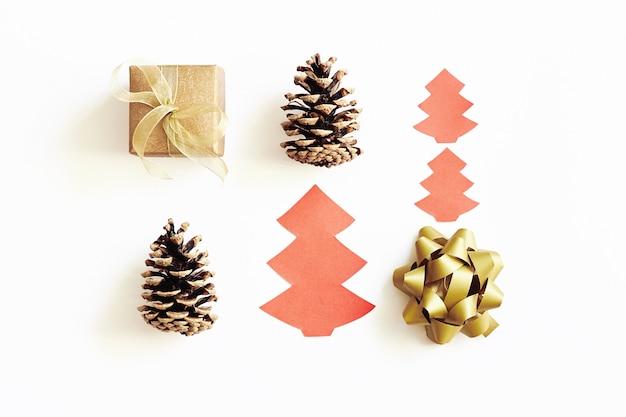 クリスマスと新年の組成。