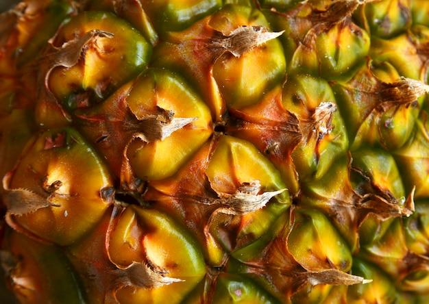 抽象的なパイナップル肌背景テクスチャ。