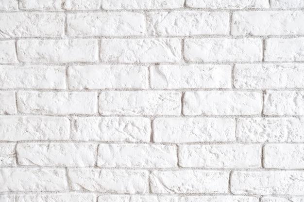 白いレンガの壁。白いレンガ。テクスチャ。バックグラウンド