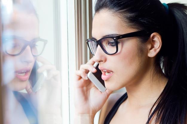 Довольно сотовый телефон очки удобной связи