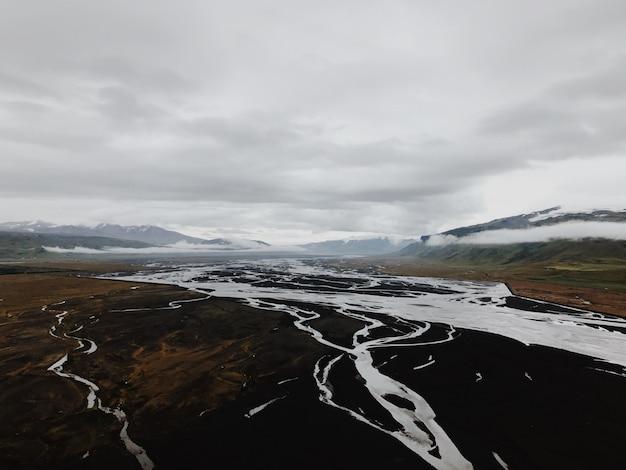 Исландская река