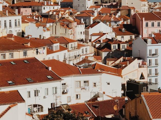 Крыши в лиссабоне