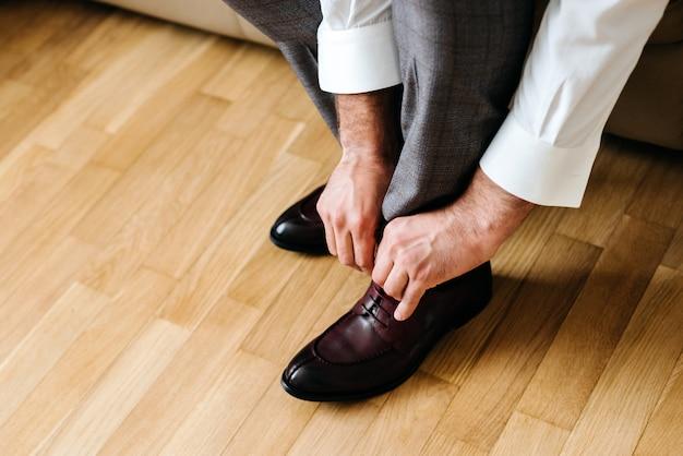 靴を履いて実業家