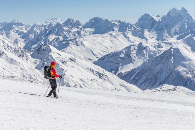 Экспедиция высоко в горах