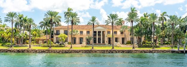 マイアミビーチの豪華な邸宅