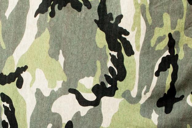 迷彩繊維布のテクスチャ。抽象的な背景とデザインのためのテクスチャ