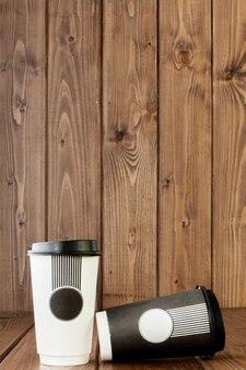Кофе на вынос в термо чашке