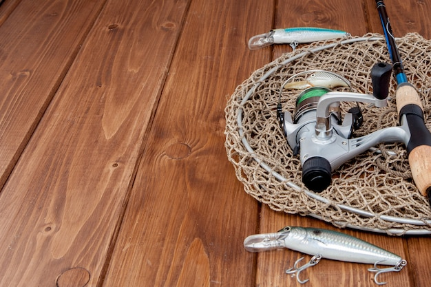 釣り道具-釣り糸、フック、ルアー