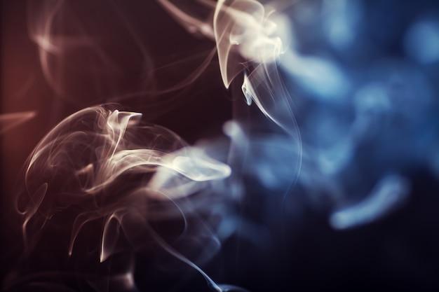 Абстрактный цветогул дым