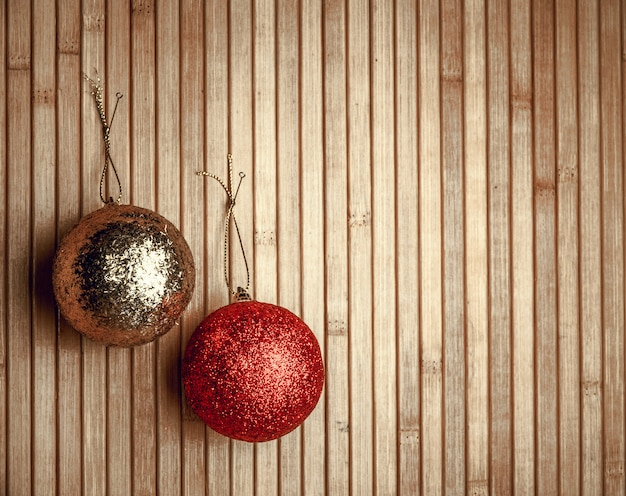 クリスマスの装飾の背景