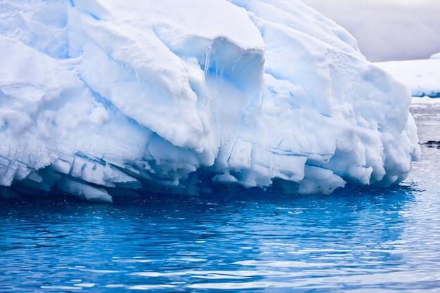 大規模な南極の氷山