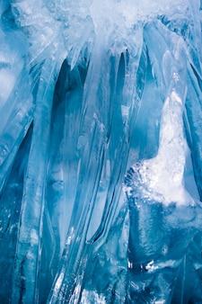 Синие сосульки
