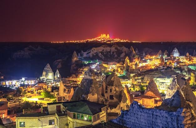 トルコのカッパドキア古代の町