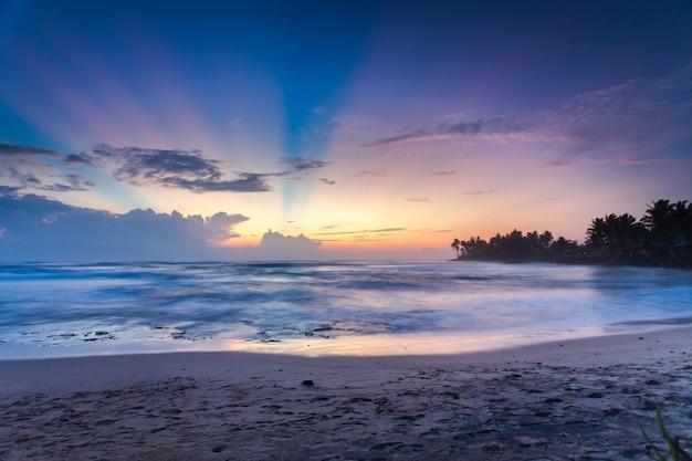 Красивый морской пейзаж