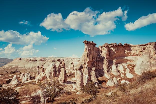 トルコの岩層