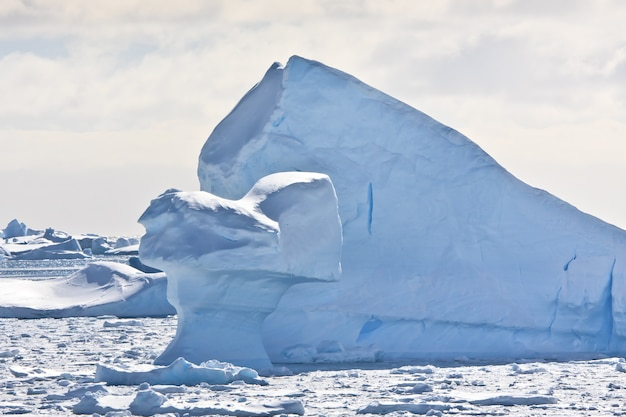 南極の氷山