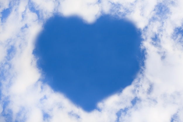 Сердце из облака