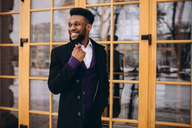 Афро-американский деловой человек