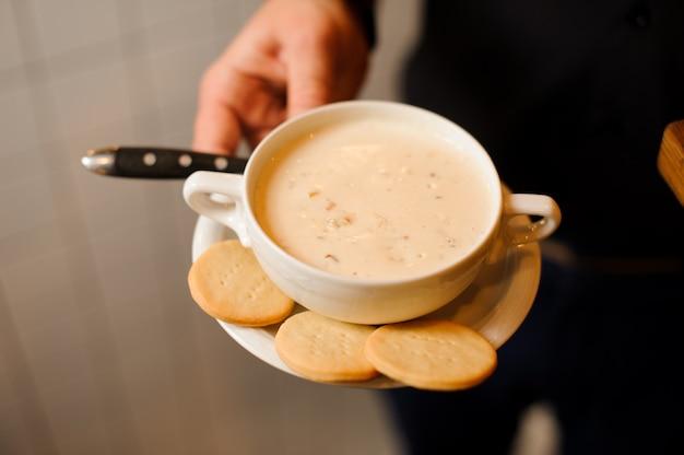 グルメスープ、クラムチャウダー