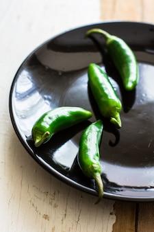 Органический зеленый перец