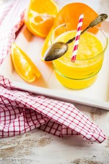 オレンジフレッシュジュース