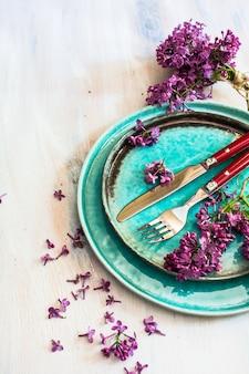 春のインテリアテーブル